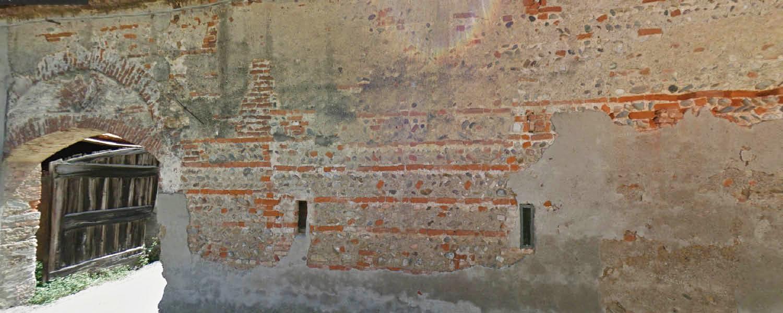 Vecchia cascina a Gorgonzola particolare