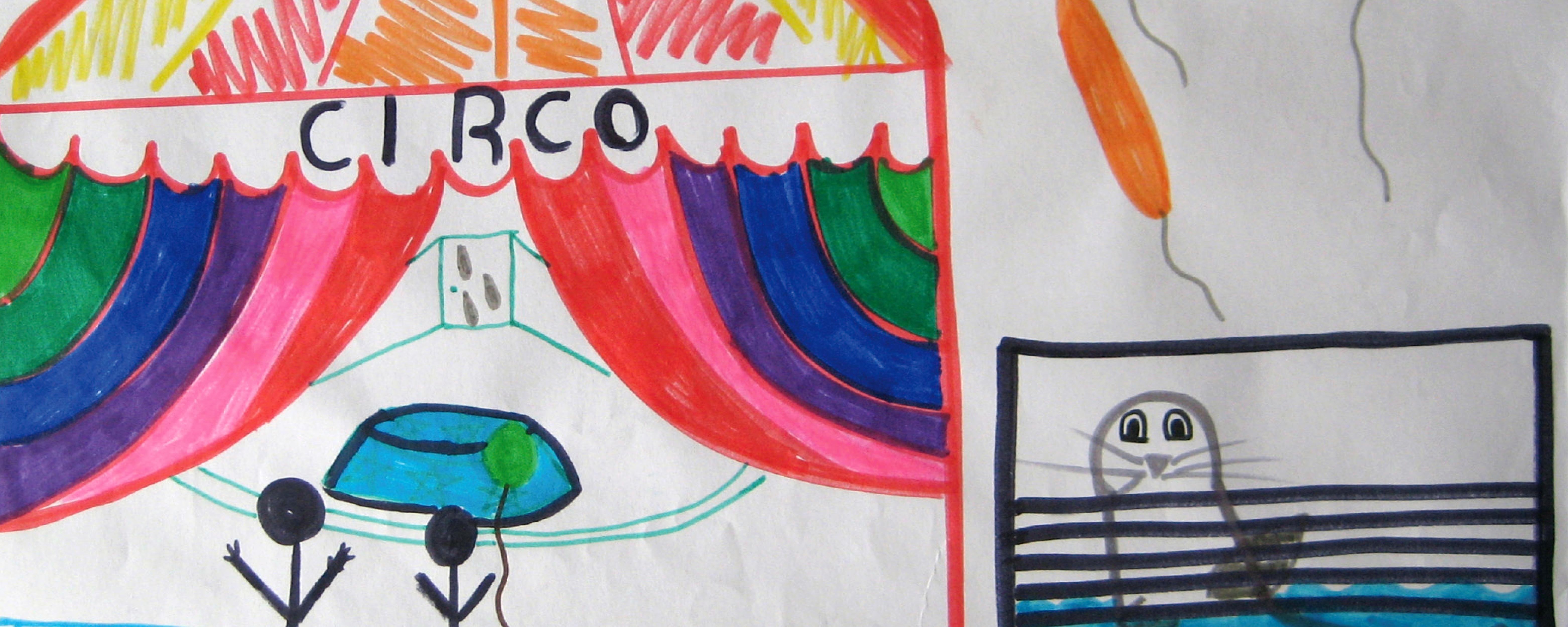 disegno, il circo