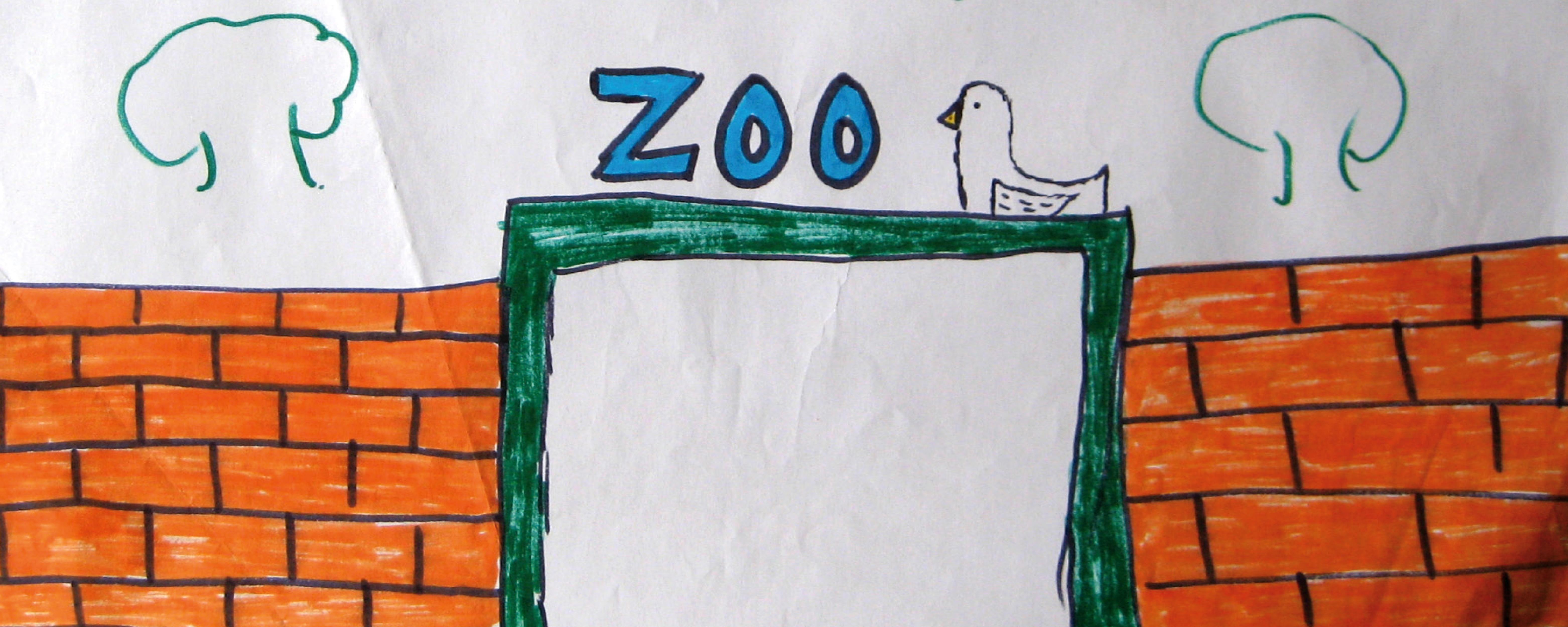 disegno, lo zoo