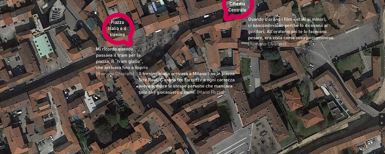 mappa gorgonzola piazza italia