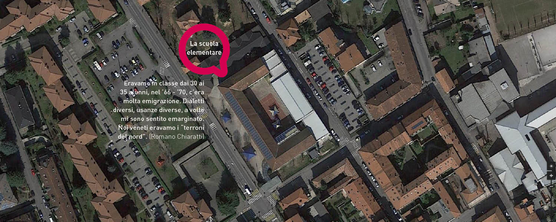 mappa gorgonzola scuola elementare